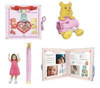 BOX Livro de Recordacoes da Bebê Menina